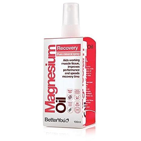 Usted mejor Aceite de magnesio Sport spray 100ml: Amazon.es: Salud y cuidado personal