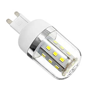 Ledtcx G9 4W 324LM 6000K 27x2835SMD Cool White Light LED Corn Bulb (AC85-265V)