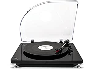 ION Audio Vinyl To MP3 Conversion Turntable and Record Player for Mac and PC, Model Pure LP