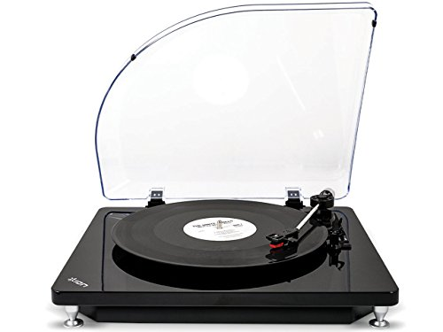 ION Audio Vinyl To MP3 Conversion Turntable and Record Player for Mac and PC, Model Pure LP by ION Audio