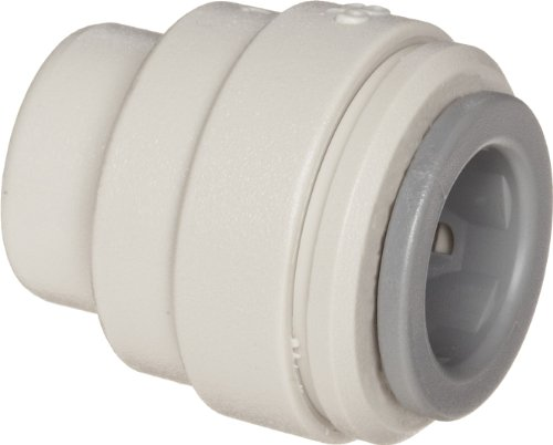 - John Guest Acetal Copolymer Tube Fitting, End Stop, 3/8