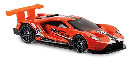 - Hot Wheels 2018 50th Anniversary Legends of Speed 2016 Ford GT Race 71/365, Orange