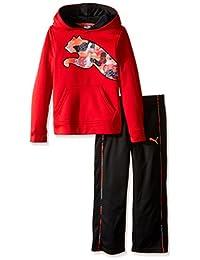 Puma Tech - Sudadera con Capucha y pantalón para niño (2 Piezas)