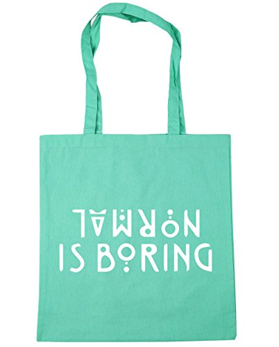Mint Beach x38cm 42cm litres 10 boring Bag Shopping Tote is Gym Normal HippoWarehouse azx7Yq