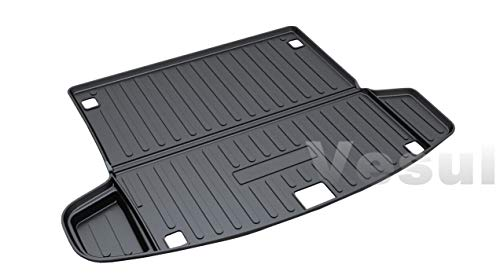 Cargo Boot - Vesul Rear Trunk Cargo Cover Boot Liner Tray Carpet Floor Mat Compatible with Acura RDX 2019