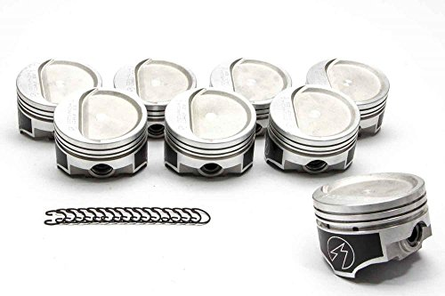 - Speed Pro L2241F 30 Chevy 350 Forged Dish Supercharged/Turbo Pistons 8.3:1 Set of (8) +.030