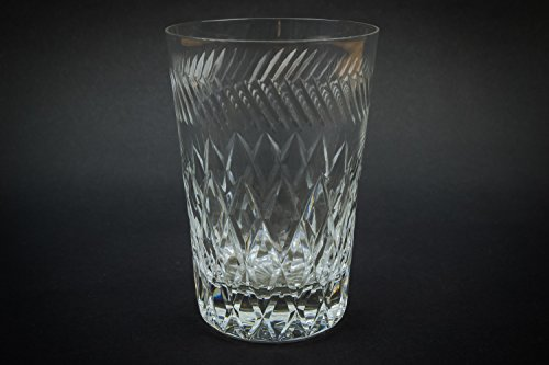 2 Vintage Crystal Diamond 100 Ml Gift Mid-century Modern Punch Eggnog Whisky GLASSES Classical Medium 1960s English LS