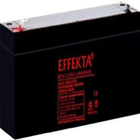 AGM Blei Batterie Akku kompatibel für Elektroscooter E-Bike Scooter 12Ah 6V