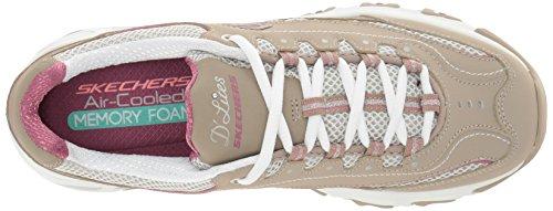 Skechers 11422 BKW - Zapatillas de deporte para mujer Taupe Life Saver