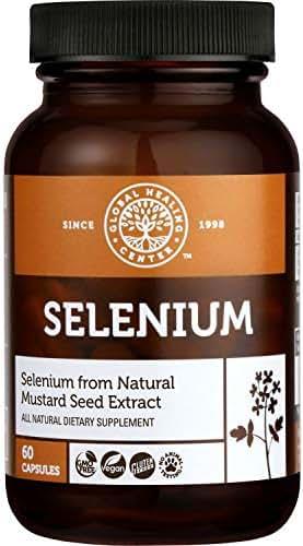 Global Healing Center Selenium, 60 Capsules