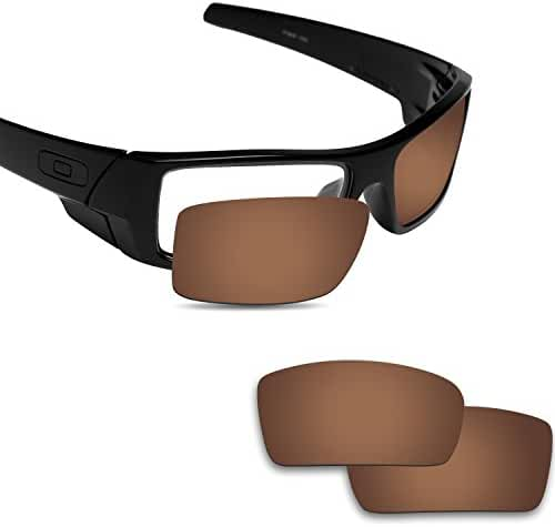 Fiskr Anti-saltwater Polarized Replacement Lenses for Oakley Gascan Sunglasses