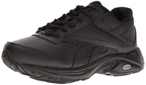 75c15edb Reebok Mens Walk Ultra TRA V DMX Max 4e Black Walking Shoes Size 7 Extra