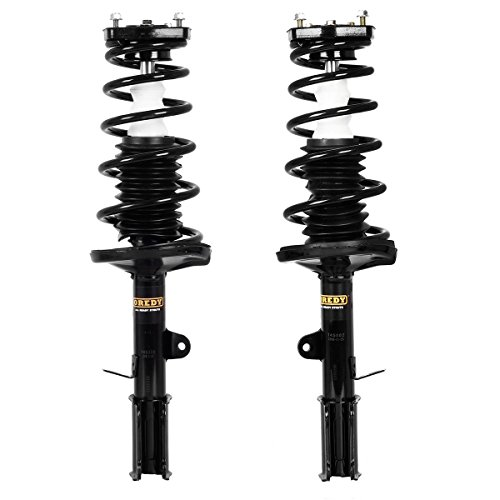 1996 1997 1998 For Toyota Corolla Rear Complete Strut /& Spring Assembly Pair