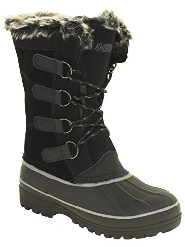 - Khombu Andie 2 Women's Winter Boots Black, 8M