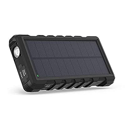 Solar Charger RAVPower 25000mAh Outdoor Portable Charger