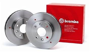 amazon brembo am ブレンボ ブレーキディスクローター2枚セット リア用