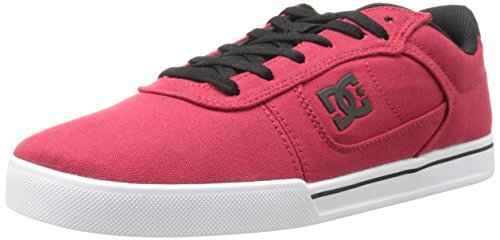 DC Men's Cole Pro TX Skate Shoe, Red, 12 D US