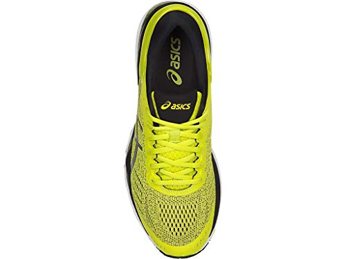 ASICS Men's Gel-Kayano 24 Running Shoes, 6M, Sulphur/Black/White by ASICS (Image #2)