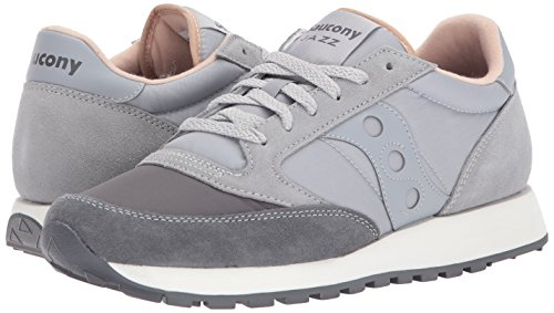 ORIGINAL S1044 JAZZ 426 SAUCONY Gris basses femmes des baskets wn10q6O