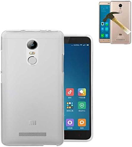 Todobarato24h Funda TPU Lisa Compatible con Xiaomi REDMI Note 4 Pro Note 4 X Blanca + Protector DE Cristal Templado: Amazon.es: Electrónica