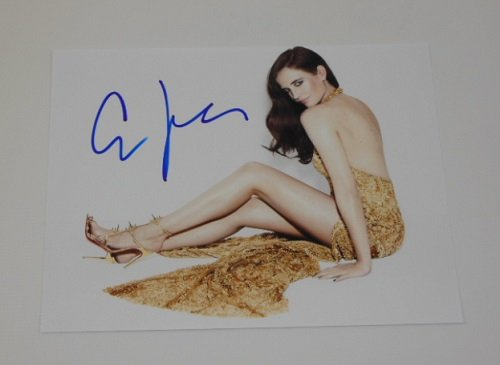 Royale Royale Collection Wall (Casno Royale 007 James Bond Girl Sexy Eva Green Signed Autographed 8x10 Glossy Photo Loa)