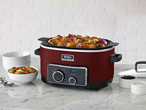 Ninja 6 Quart 3-In-1 Slow Cooker with Recipe Book (Certified Refurbished) by SharkNinja (Image #3)