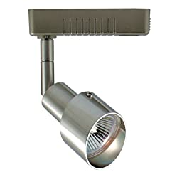 Jesco Lighting HLV24050SC Mini Deco 240 Series Low Voltage Track Light Fixture, 50 Watt, Satin Chrome Finish
