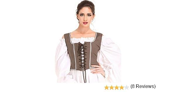 ThePirateDressing Medieval Joven Pirata Campesino Renaissance ...