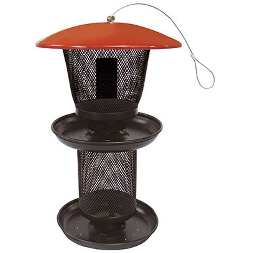 No/No Multi Seed Feeder, Red and Black  RBMS00341