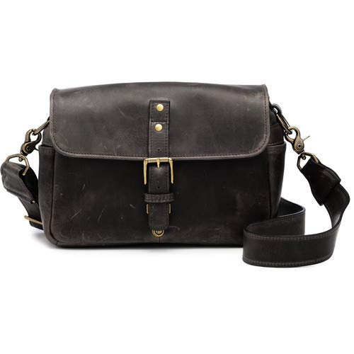 Bowery Camera Bag (Leather, Dark Truffle) [並行輸入品] B07MJYT743