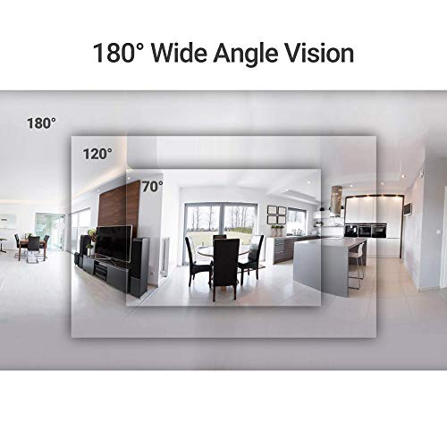 Zmodo 1080p Wide Angle 180 Degrees Wireless Two Way Audio Home Security Camera by Zmodo (Image #3)