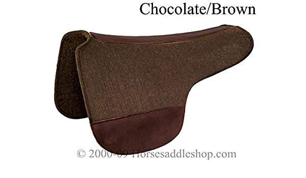 Amazon com : Tucker Round Skirt 3/4in Brn Wool Felt Pad 34x28