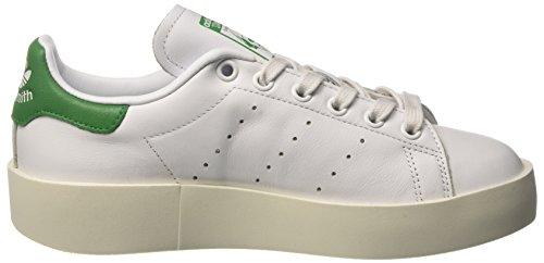 ... adidas Stan Smith Bold, Sneaker Basses Femme Blanc (Footwear  White Footwear White  ac39344a795c