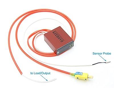 KEENOVO All-Purpose Digital Temperature Controller Box Fahrenheit & Centigrade Thermostat 30A 110V w/ Control Range of -30C~300C