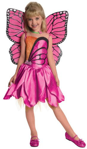 Mariposa Barbie Costume (Barbie-Deluxe Mariposa Toddler / Child Costume)