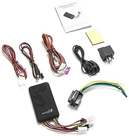 SNOWINSPRING GT06 Rastreador GPS para Coche SMS gsm GPRS Sistema de Seguimiento de VehíCulos Monitor Control Remoto para Dispositivo de LocalizacióN de Motocicletas