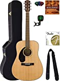 Fender CD-60S Solid Top Dreadnought Acoustic