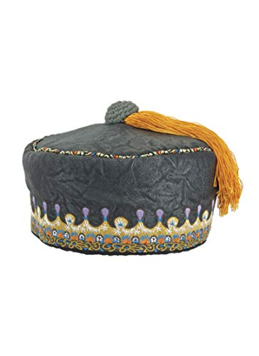 elope Harry Potter Albus Dumbledore Costume Tassel Hat ()