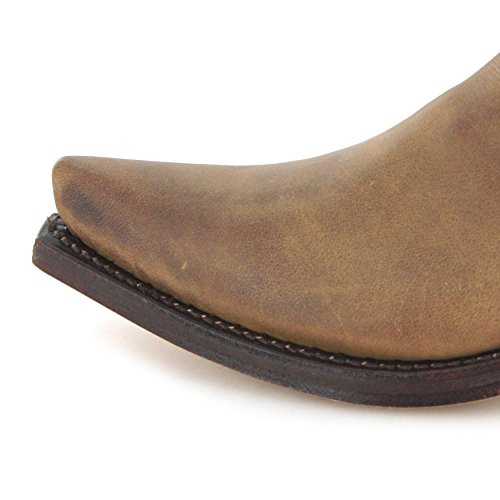 Boots Bottes Tangerine Marron Modèles Westernstiefelette Couleurs Cowboystiefelette Et 1692 différentes Sendra fgdwqq