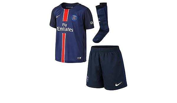 Nike PSG Home LB Kit - Traje Completo Paris Saint Germain 2015 ...