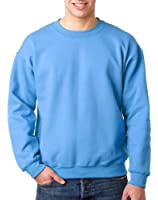 Gildan Men's Comfort Double Needle Cuffs Sweatshirt, Carolina Blue