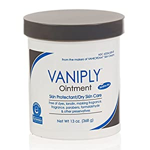 Vanicream Vaniply Ointment-Skin Protectant -Soothes Dry, Irritated, Itchy & Chaffing Skin - Dermatologist Tested - Paraben Free-Preservative Free-13 Ounce Tub