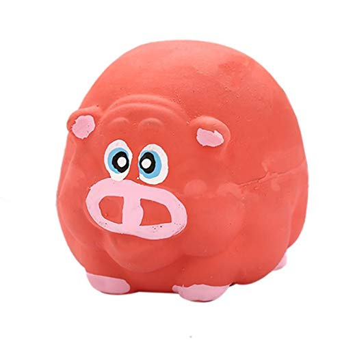 VT BigHome 1PC Toy for Dogs Puppy Screaming Rubber Elephant Toy for Dogs Latex Squeak Squeaker Chew Training (Big Squeak Elephant)