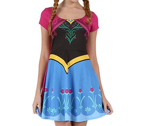 Frozen Anna Juniors Costume Dress
