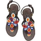 Aspiga Sereni Multi Leather Sandals