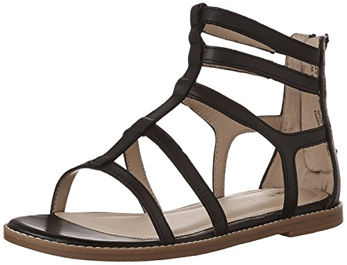 Hush Puppies Donna Abney Chrissie Lo Gladiator Sandalo In Pelle Nera