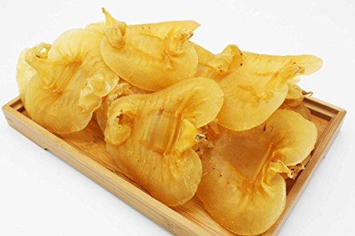 Rich in Collagen Skin Beauty Cuisine Tonic Dried Premium Fish Maw Hua Jiao 赤嘴鰵魚膠 Free Worldwide Airmail