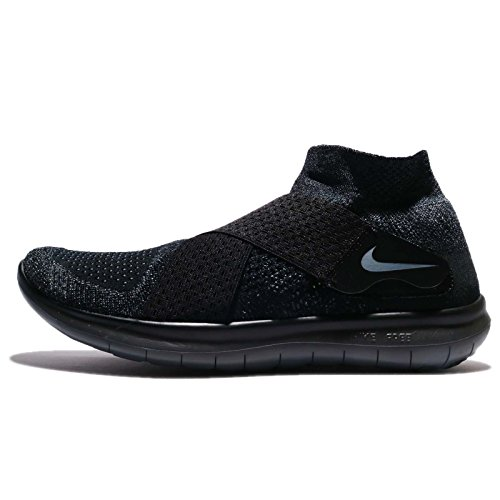 Nike Free RN Motion FK 2017, Zapatillas de Trail Running Para Hombre, Negro (Black/Dark Grey/Anthracite/Volt 003), 45.5 EU