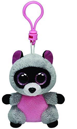 Ty Beanie Boos Rocco - Raccoon Clip