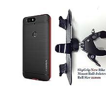 "SlipGrip 1.5"" Bike Holder For Huawei Nexus 6P Using Verus High Pro Shield Bumper Case"